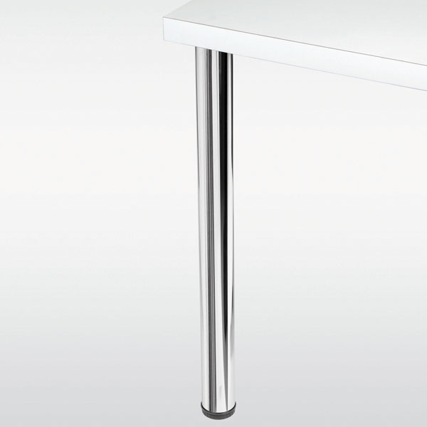 pied de table metallique rond